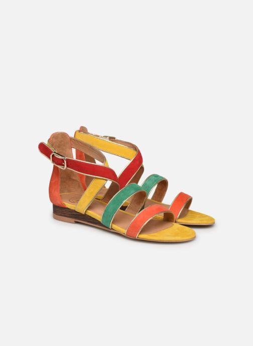Sandalen Made by SARENZA Riviera Couture Sandales Plates #3 mehrfarbig ansicht von hinten