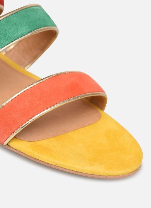 Sandales et nu-pieds Made by SARENZA Riviera Couture Sandales Plates #3 Multicolore vue gauche