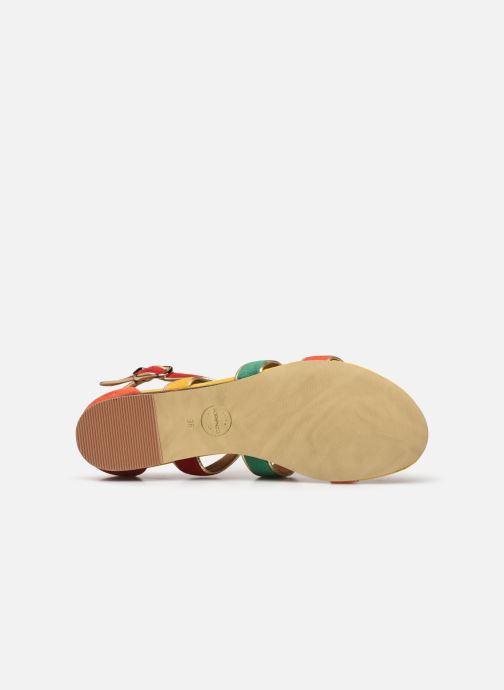 Sandalen Made by SARENZA Riviera Couture Sandales Plates #3 mehrfarbig ansicht von oben