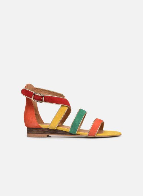 Sandales et nu-pieds Made by SARENZA Riviera Couture Sandales Plates #3 Multicolore vue détail/paire