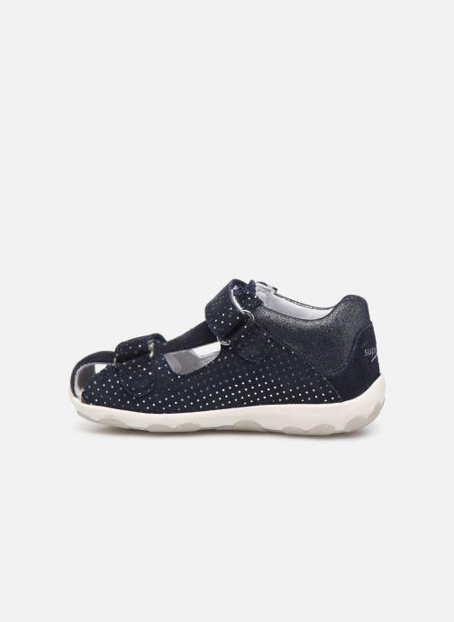 Sandales et nu-pieds Superfit Fanni Bleu vue face