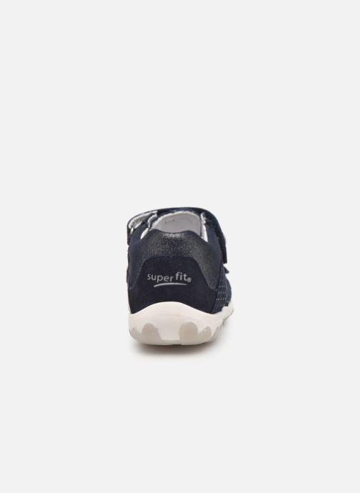 Sandales et nu-pieds Superfit Fanni Bleu vue droite