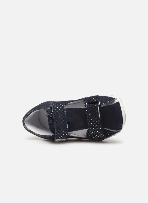 Sandales et nu-pieds Superfit Fanni Bleu vue gauche