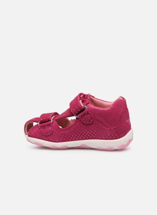 Sandalen Superfit Fanni rosa ansicht von vorne
