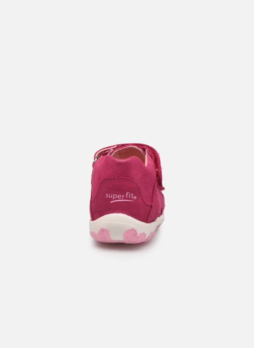 Sandalen Superfit Fanni rosa ansicht von rechts