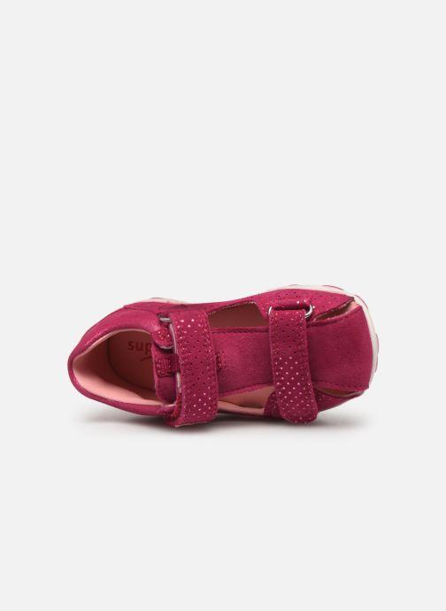 Sandalen Superfit Fanni rosa ansicht von links
