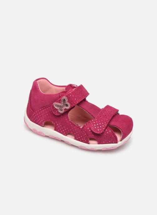 Sandaler Superfit Fanni Pink detaljeret billede af skoene
