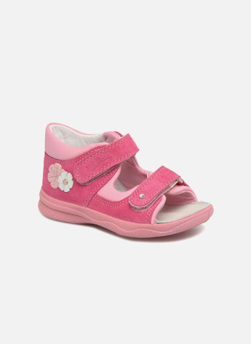Sandals Superfit Polly Pink detailed view/ Pair view