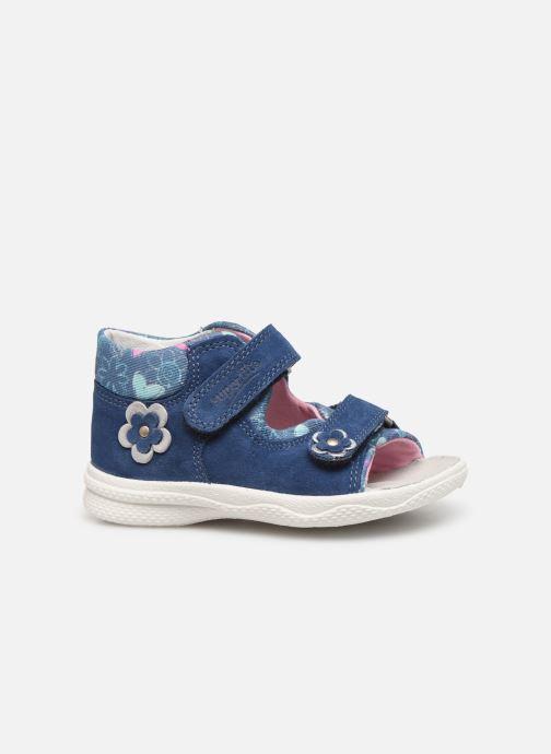 Sandales et nu-pieds Superfit Polly Bleu vue derrière