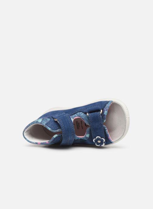 Sandales et nu-pieds Superfit Polly Bleu vue gauche