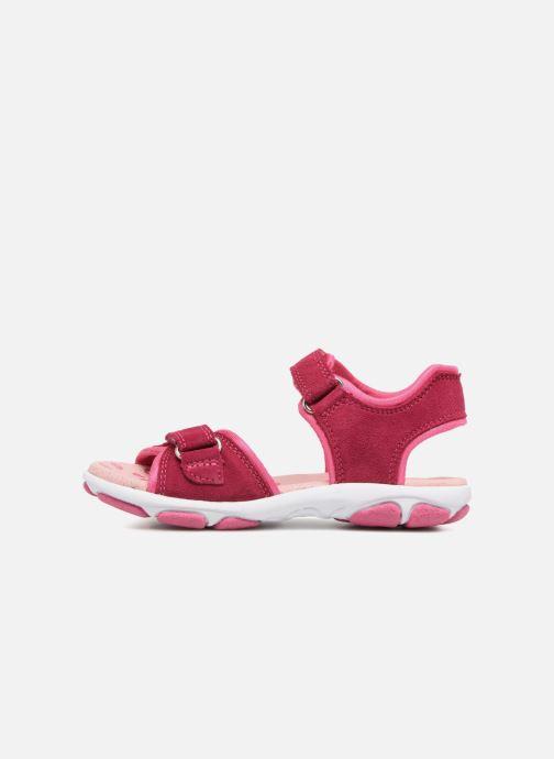 Sandales et nu-pieds Superfit Nancy3 Rose vue face