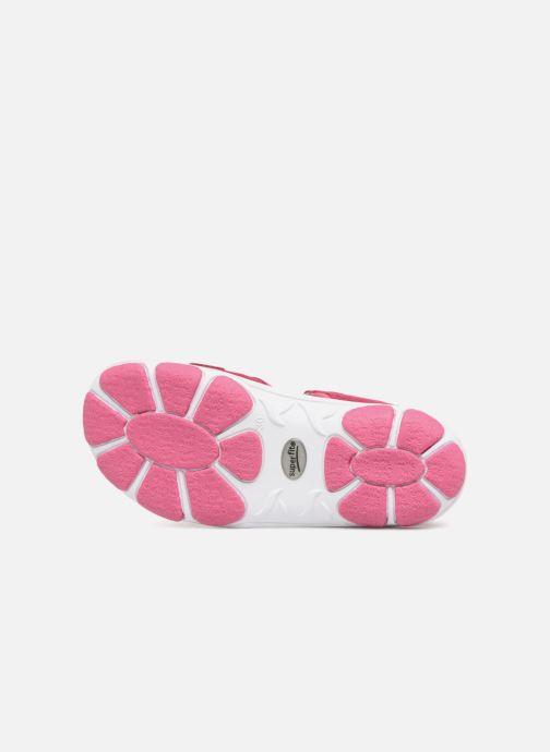 Sandales et nu-pieds Superfit Nancy3 Rose vue haut