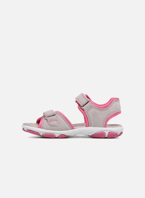 Sandales et nu-pieds Superfit Nancy3 Gris vue face
