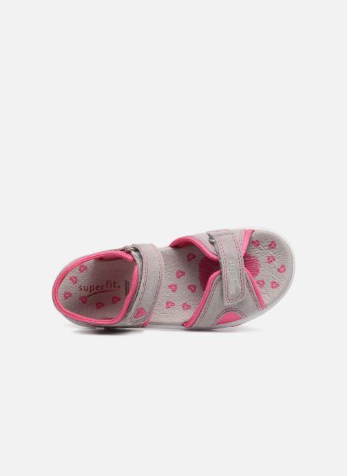 Sandales et nu-pieds Superfit Nancy3 Gris vue gauche