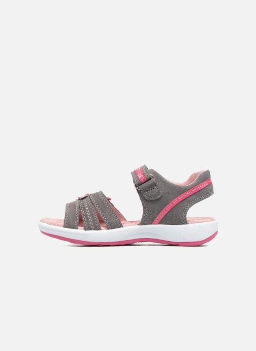 Sandales et nu-pieds Superfit Emily Gris vue face