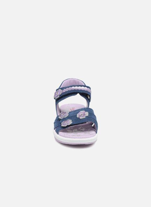 Sandales et nu-pieds Superfit Emily Violet vue portées chaussures