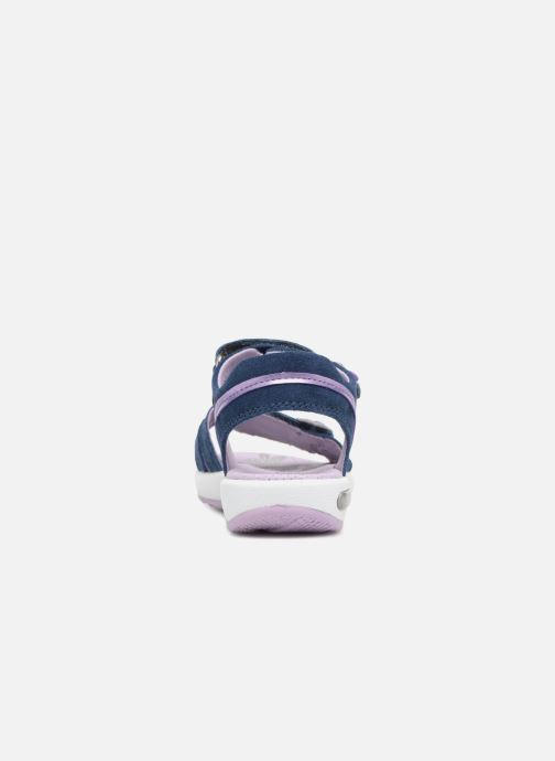 Sandals Superfit Emily Purple view from the right