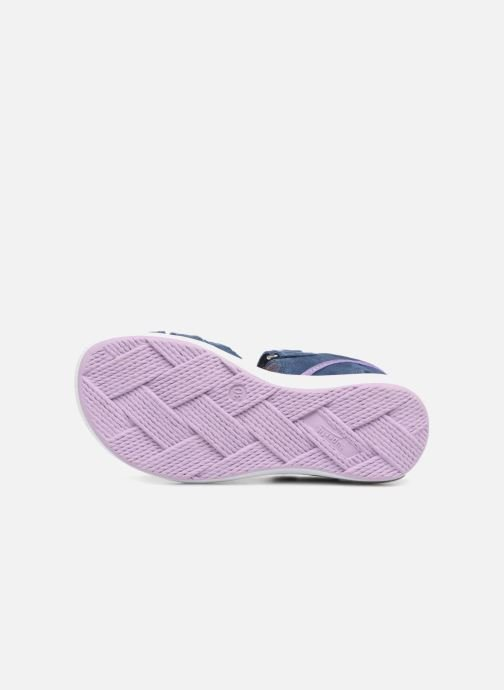 Sandals Superfit Emily Purple view from above