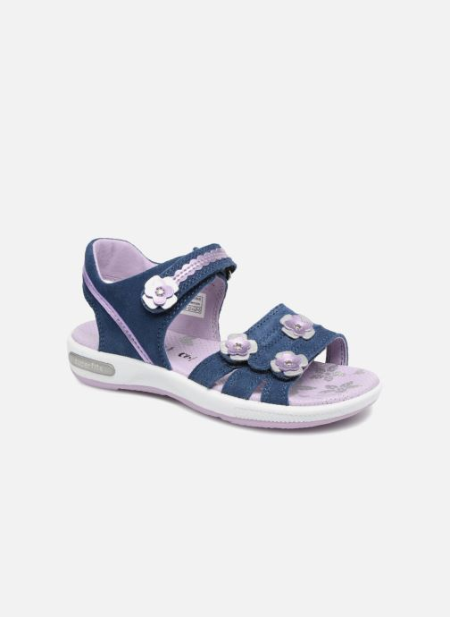 Sandals Superfit Emily Purple detailed view/ Pair view