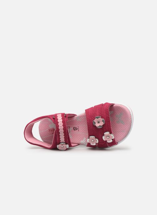 Sandals Superfit Emily Pink view from the left