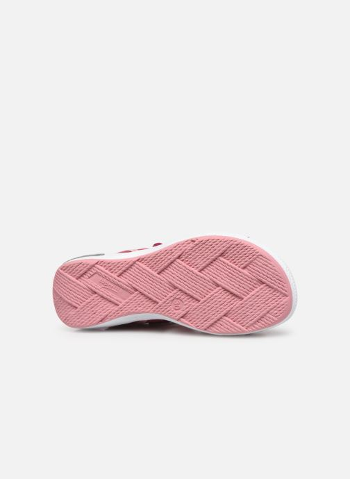 Sandals Superfit Emily Pink view from above