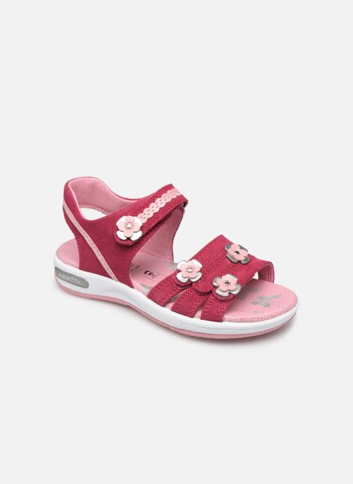 Sandals Superfit Emily Pink detailed view/ Pair view
