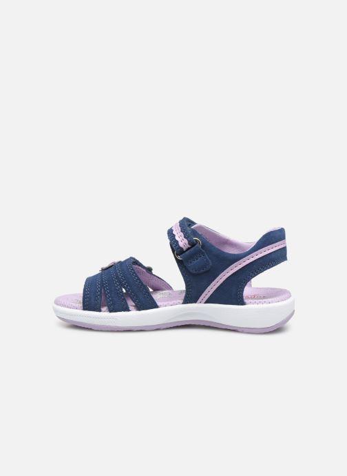 Sandales et nu-pieds Superfit Emily Bleu vue face