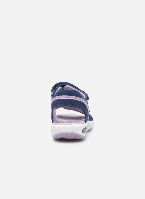 Sandales et nu-pieds Superfit Emily Bleu vue droite
