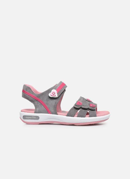Sandali e scarpe aperte Superfit Emily Grigio immagine posteriore