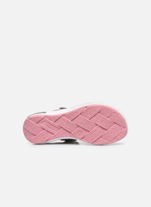Sandales et nu-pieds Superfit Emily Gris vue haut
