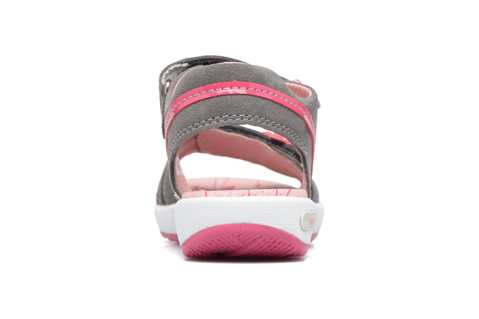 Sandals Superfit Emily Grey view from the right