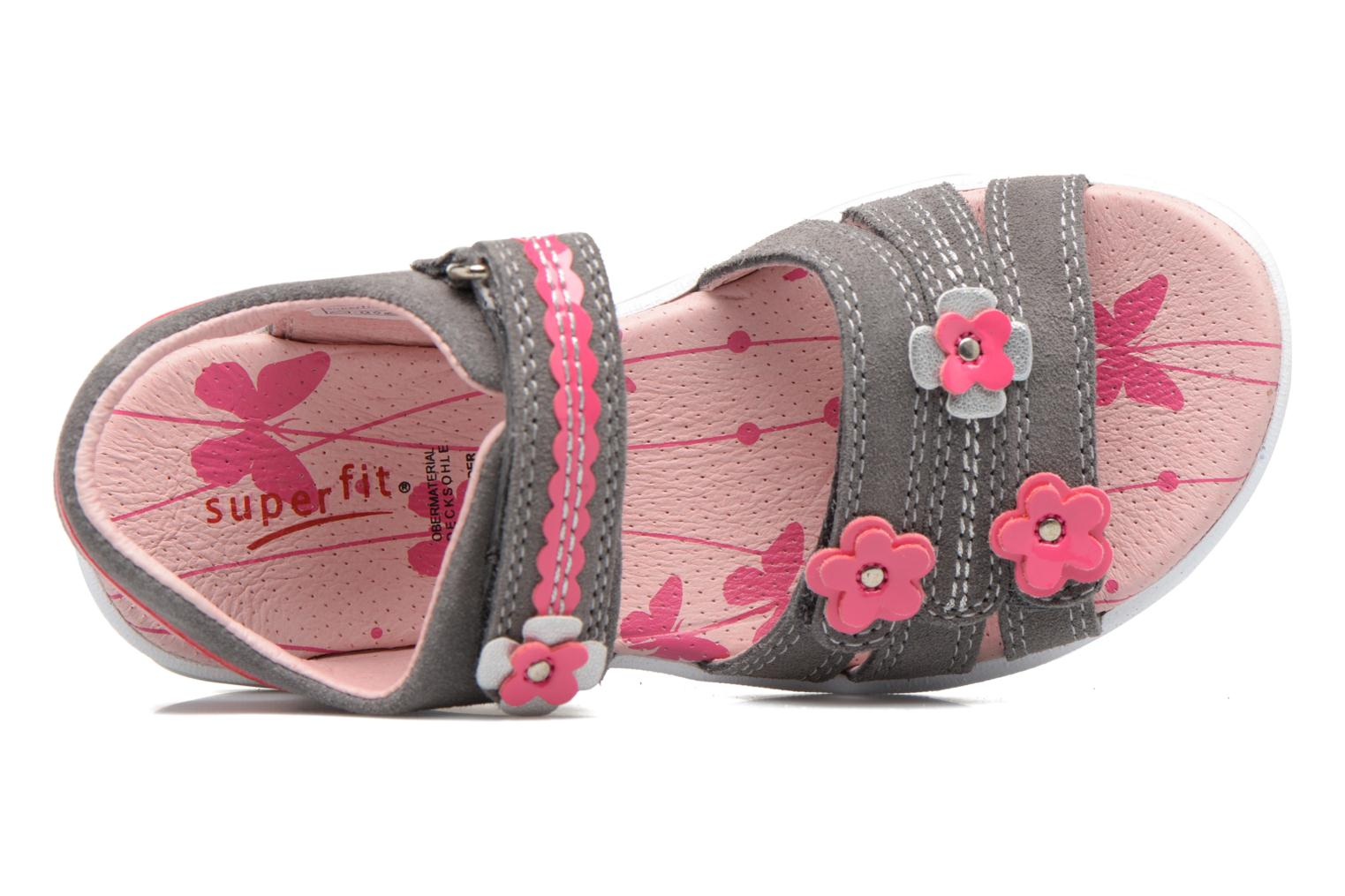 Sandalen Superfit Emily Grijs links