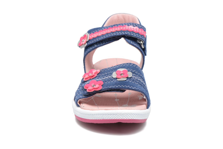 Sandales et nu-pieds Superfit Emily Bleu vue portées chaussures