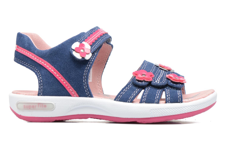 Sandales et nu-pieds Superfit Emily Bleu vue derrière