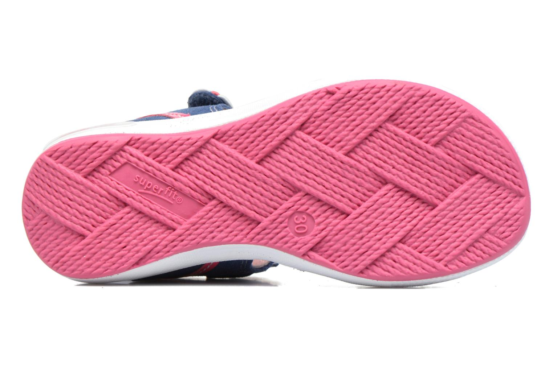 Sandales et nu-pieds Superfit Emily Bleu vue haut
