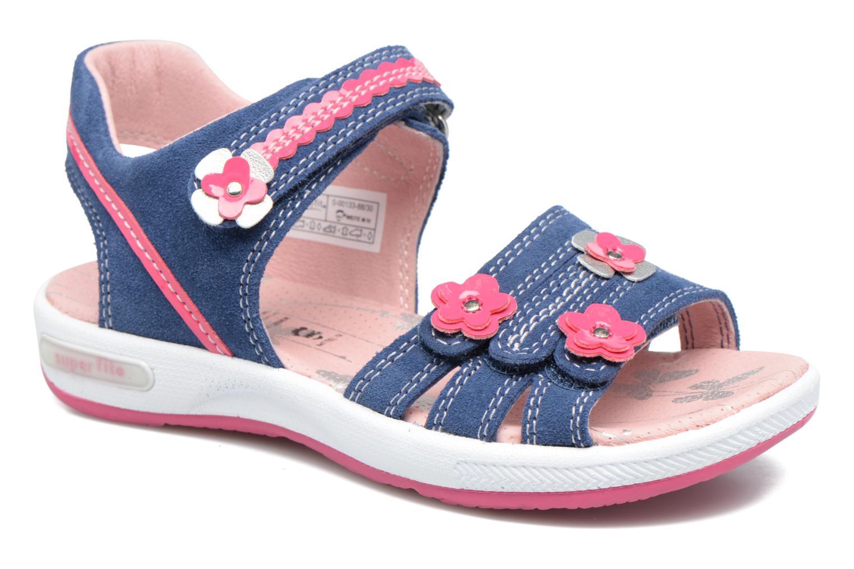 Sandales et nu-pieds Superfit Emily Bleu vue détail/paire