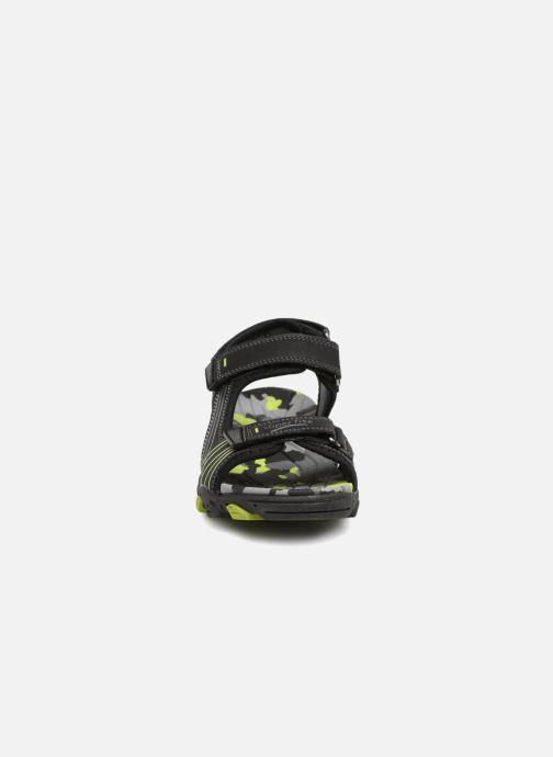 Sandales et nu-pieds Superfit Henry Noir vue portées chaussures