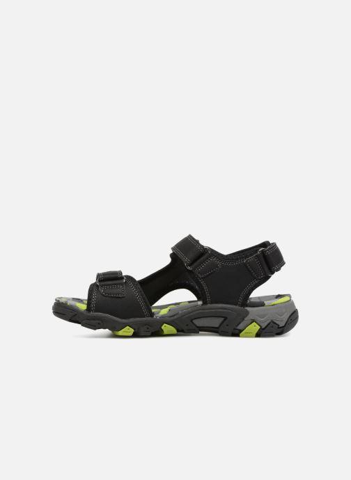 Sandales et nu-pieds Superfit Henry Noir vue face