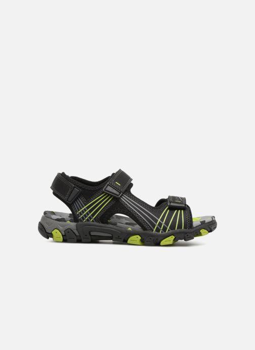 Sandales et nu-pieds Superfit Henry Noir vue derrière
