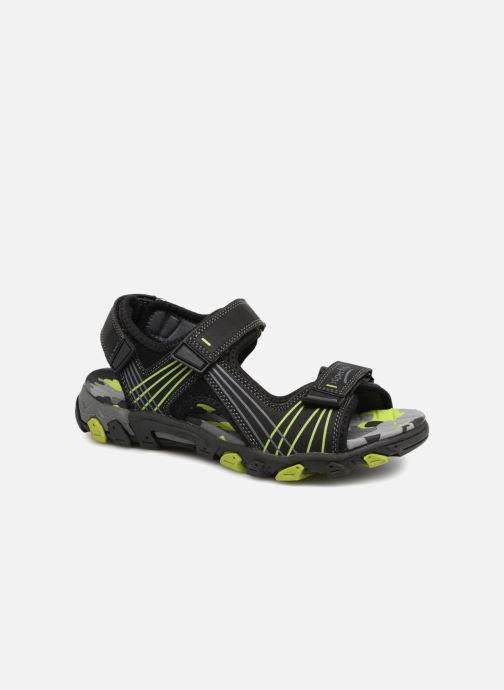 Sandales et nu-pieds Superfit Henry Noir vue détail/paire