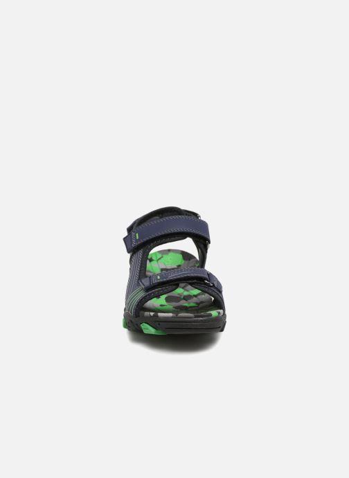 Sandales et nu-pieds Superfit Henry Bleu vue portées chaussures