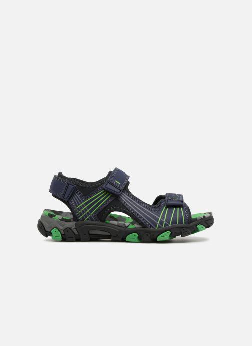Sandales et nu-pieds Superfit Henry Bleu vue derrière
