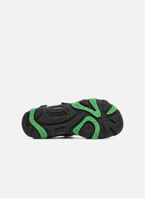 Sandales et nu-pieds Superfit Henry Bleu vue haut