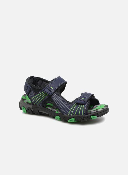 Sandales et nu-pieds Superfit Henry Bleu vue détail/paire