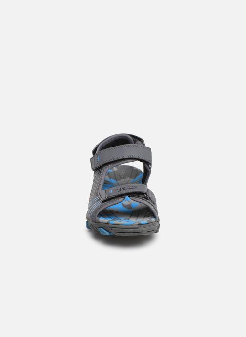 Sandales et nu-pieds Superfit Henry Gris vue portées chaussures