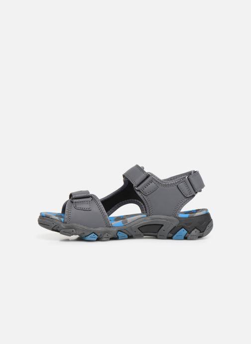 Sandales et nu-pieds Superfit Henry Gris vue face