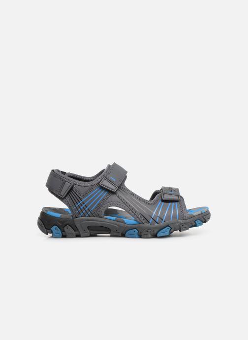 Sandales et nu-pieds Superfit Henry Gris vue derrière