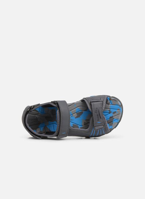 Sandales et nu-pieds Superfit Henry Gris vue gauche