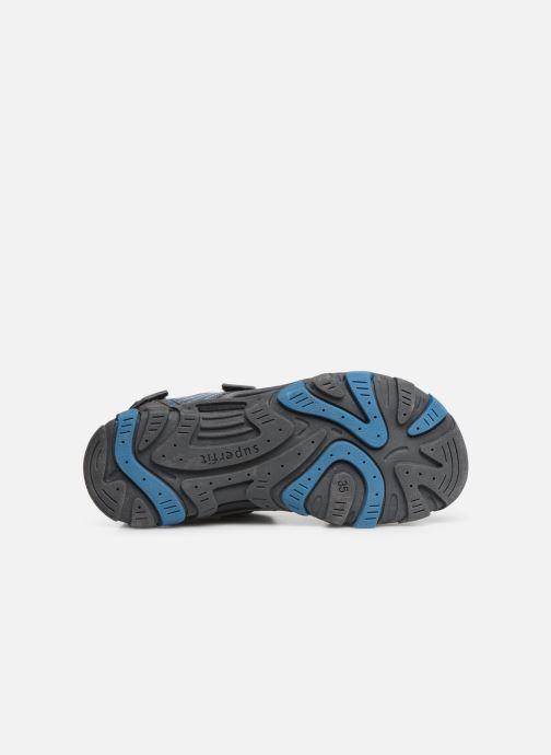 Sandales et nu-pieds Superfit Henry Gris vue haut