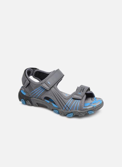 Sandales et nu-pieds Superfit Henry Gris vue détail/paire